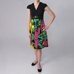 Sangria Brand Floral Print Sleeveless Dress Today $33.29