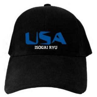 Caps Black Usa Isogai Ryu  Martial Arts Clothing