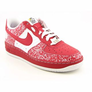 Nike Boys Air Force 1 Varsity Red/ White Shoes