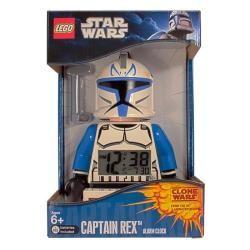 LEGO Clone Wars Captain Rex Mini figure Alarm Clock