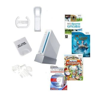 Nintendo Wii   Family Value Bundle