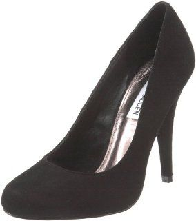Steve Madden Womens Ultamit Pump,Black Suede,9 M US Shoes