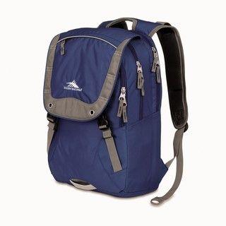 High Sierra Asphalt Blue Velvet Laptop Backpack