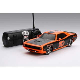 this item maisto plymouth cuda remote control car today $ 28 99
