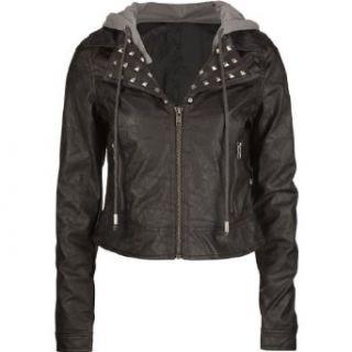 JACK BB DAKOTA Faux Leather Womens Jacket Clothing