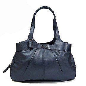 Authentic Coach Lexi Leather Satchel Bag 18829 Graphite Grey Shoes