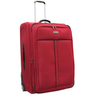 Kenneth Cole Reaction Front Row Red 29 inch Expandable Wheeled Upright