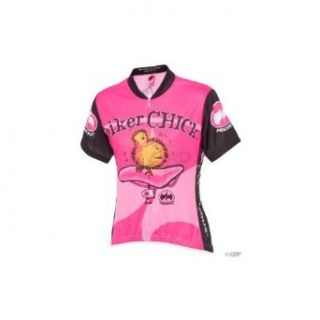 ... Cycling Jersey  World Jerseys Biker Chick Jersey SM Pink  Clothing ... ef37a24e5
