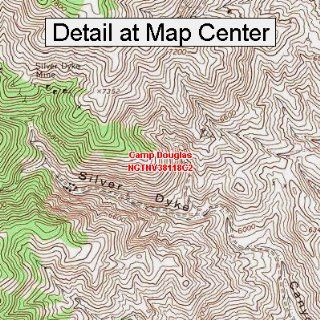 USGS Topographic Quadrangle Map   Camp Douglas, Nevada