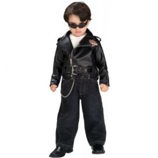 Toddler Harley Davidson Halloween Costume Jacket Clothing