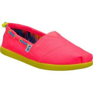 Girls Skechers BOBS World Toggle Ups Pink/Multi