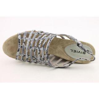 Biviel Womens BVC0070 Gray Dress Shoes (Size 9)