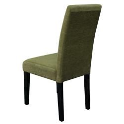 Aprilia Moss Green Upholstered Dining Chairs (Set of 2)