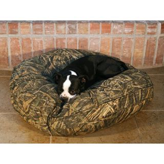Round 35 inch Mossy Oak Camo Pet Bed
