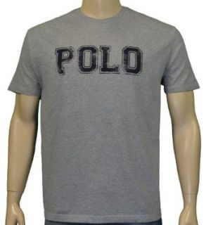 Polo Ralph Lauren Mens Varsity Logo Shirt Gray 2XL