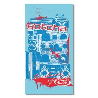 SERVIETTE   GOTCHA   160 x 85 cm   DESCRIPTION : Modèle sous licence