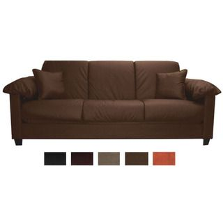 Tango Click Clack Convertible Full size Microfiber Futon Sofa