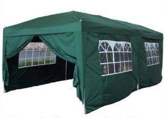 Quictent TM 20x10 EZ Pop Up Party Tent Canopy Gazebo + 6