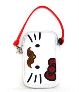 Loungefly Hello Kitty Mustache Multi Case (White/Multi