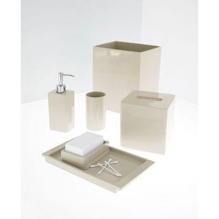 Wamsutta Bath Accessories Serendipity Red Complete Set