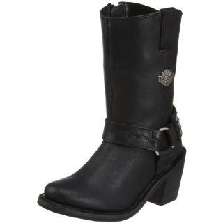 Harley Davidson Womens Mylie Boot ,Black,6.5 M US Shoes