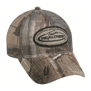 Team Realtree Camo Mesh Crown Adjustable Hat