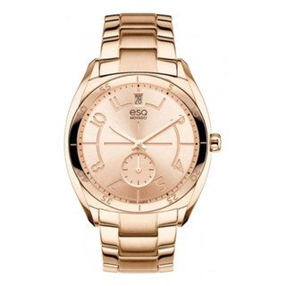 ESQ Womens Origin Rose Gold Ion plated Stainless Steel Watch