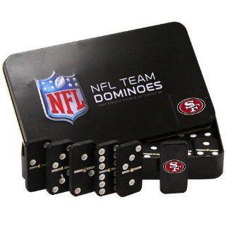 NFL San Francisco 49ers Domino Set in Metal Gift Tin