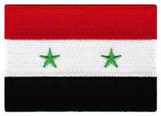 Syria Flag Embroidered Patch Syrian Iron On Arab National