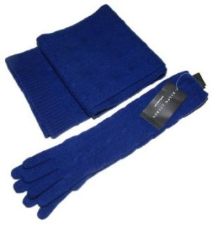 Polo Ralph Lauren Black Label Cashmere Glove Scarf Set