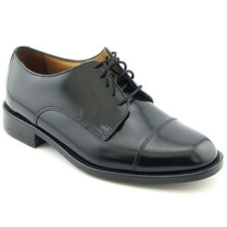 Boston Accent Mens Andover Leather Dress Shoes (Size 9) Wide