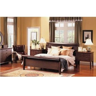 Abbyson Living Novara 5 piece Cal King Sleigh Bedroom Set