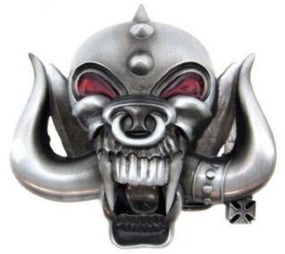 Heavy Metal Spiked Demon Belt Buckle Motorhead Clothing