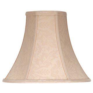 Cal Lighting Bell Floral Design Fabric Lamp Shade