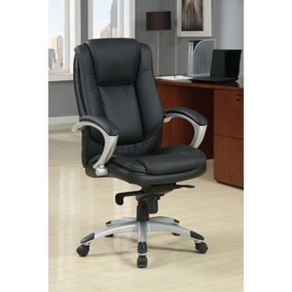 Enitial Lab Luxurious Adjustable Padded Leatherette Office Chair
