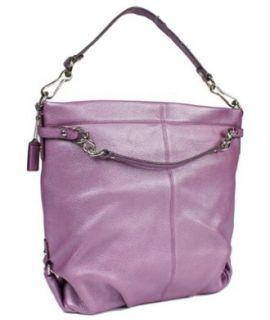 Coach Brooke Leather Hobo Bag Tote Purse 16618 Lilac