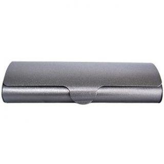 Sleek Polished Aluminum Hard Eyeglass Case Clothing