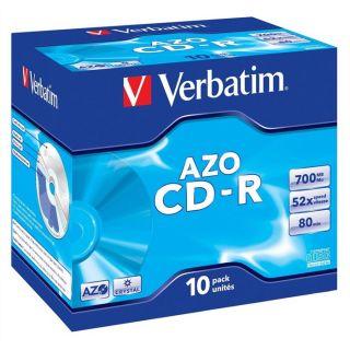 Verbatim CDR 80 min 52x (10)   Achat / Vente CD   DVD   BLU RAY VIERGE