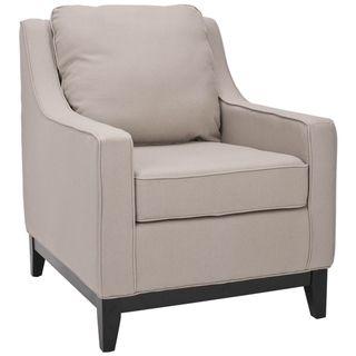 Uptown Linen Beige Club Chair