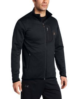 Spyder Mens Bandit Full Zip Fleece Jacket Sports