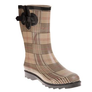 Henry Ferrera Womens Mid Calf Rain Boots