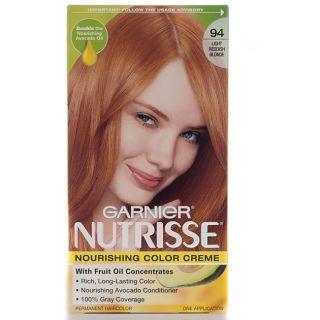Garnier Nutrisse #94 Light Reddish Blonde Hair Color (Pack of 4