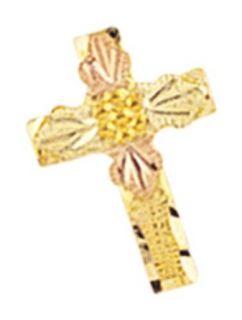 Mt. Rushmore Black Hills Gold® 10K Cross Pin / Tie Tac