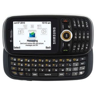 Samsung T369 GSM Unlocked Black Cell Phone