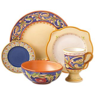 Pfaltzgraff Villa Del La Luna 40 piece Dinnerware Set