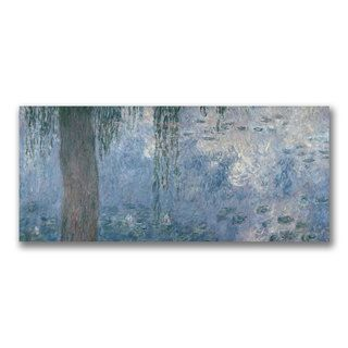 Claude Monet Waterlillies Morning II Canvas Art