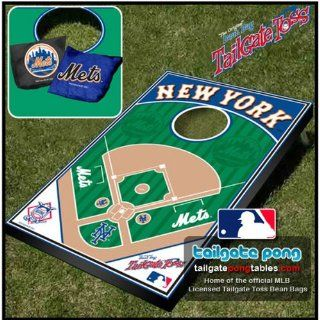 New York Mets MLB Tailgate Toss Cornhole Game Sports