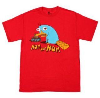 Disney Phineas & Ferb Perry Nom Nom Nom Mens Shirt
