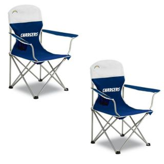 San Diego Chargers Arm Chair Set (Pack of 2)