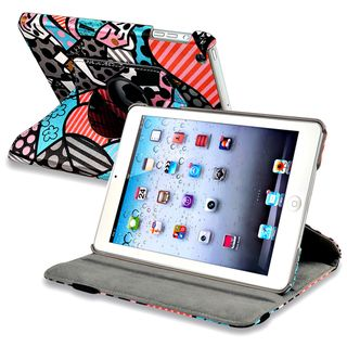 BasAcc Graffiti 360 degree Swivel Leather Case for Apple® iPad Mini